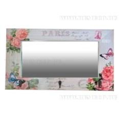Прямоугольное настенное зеркало Paris