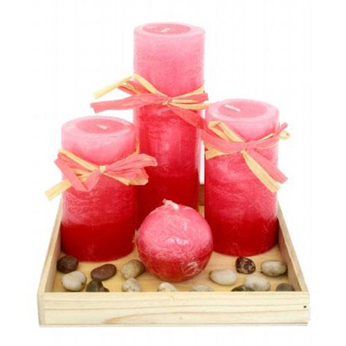 Набор парафиновых свечей