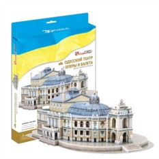 3D пазл Cubic Fun Одесский театр оперы и балета (Украина)
