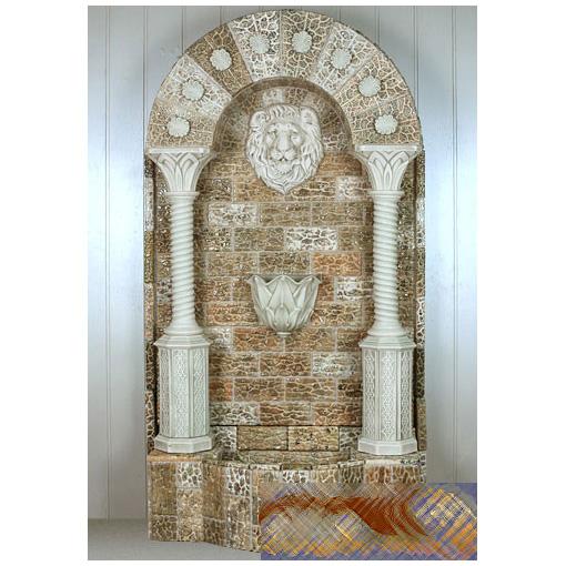 Напольный фонтан-стенка «Венецианский король»