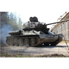 Поездка на танке и посещение музея бронетехники (3 чел.)