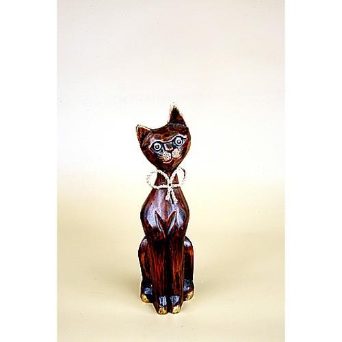 Кошка в галстуке-бабочке 30 см