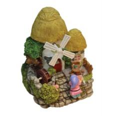 Фонтан Маленький домик с гномиком