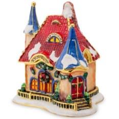 Шкатулка Рождественский домик Nobility