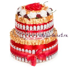 Торт-шкатулка Киндер-тортик VIP