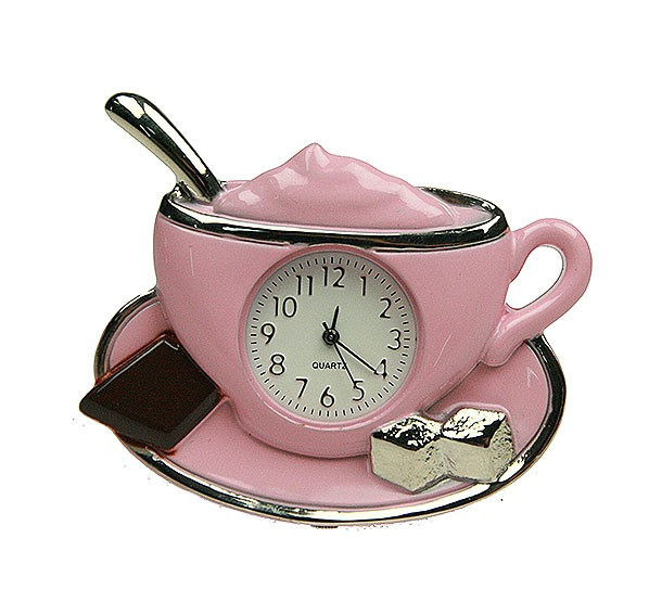Часы настольные Капучино