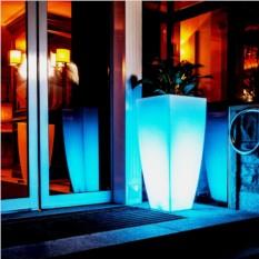 Светящийся вазон Крон 88см