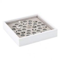 Белый открытый лоток для хранения шармов LC Designs
