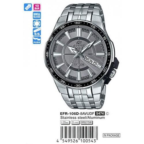 Мужские наручные часы Casio Edifice EFR-106D-8A