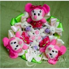 Букет для девочки с Minnie Mouse