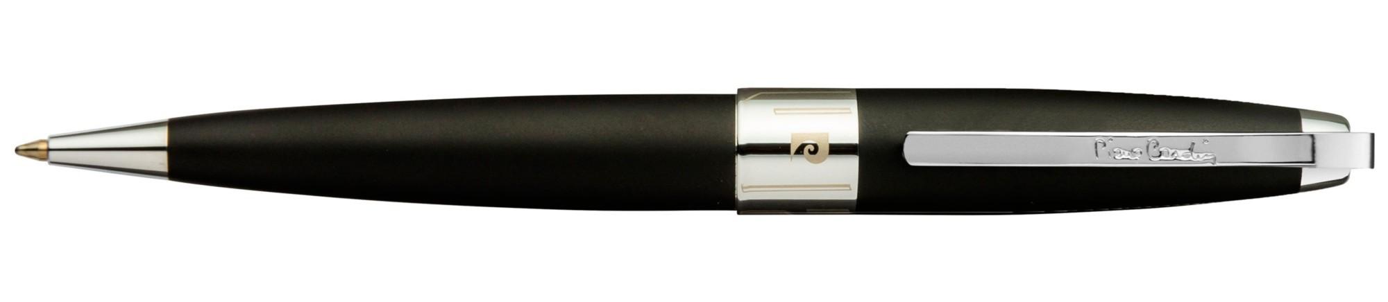 Черная матовая шариковая ручка Pierre Cardin Roi