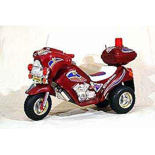 Мотоцикл на аккумуляторе red