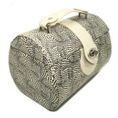 Черно-белая шкатулка для ювелирных украшений Valise