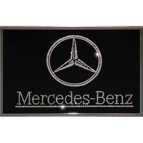 Картина Сваровски Mercedes