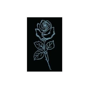 Картина из кристаллов «Роза»