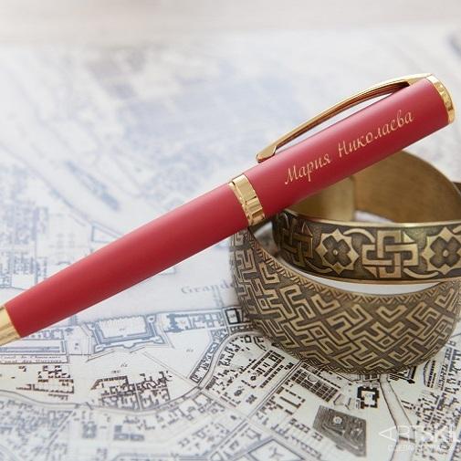 Ручка шариковая Красный бархат