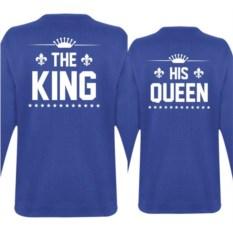 Парные толстовки The king, His queen