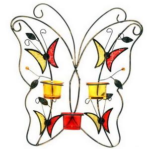 Подсвечник настенный «Бабочка»