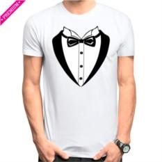 Мужская футболка Stedman Смокинг с бабочкой