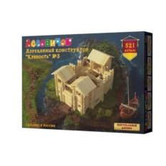 Конструктор Крепость №3 из 521 деталей