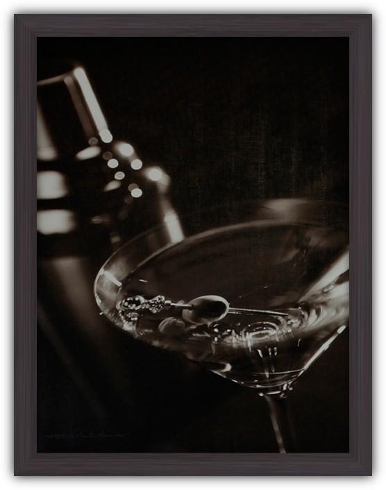 Картина (репродукция) Ночь в казино (Коктейль)