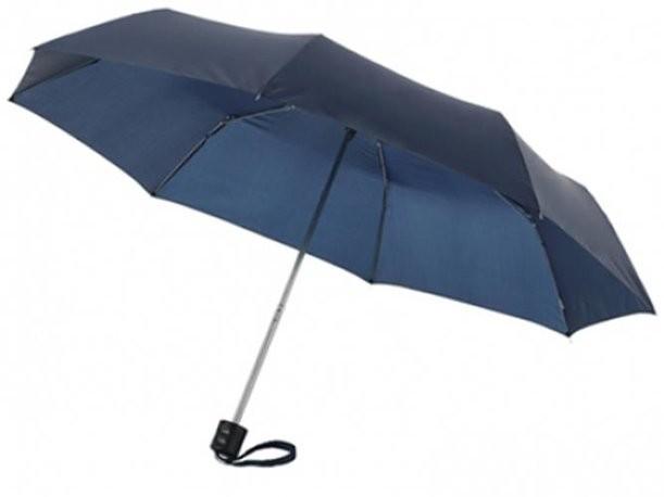 Темно-синий зонт
