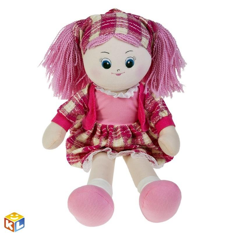 Кукла Клубничка в косынке, 60см