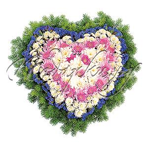 Сердце в Стиле Бидермейер