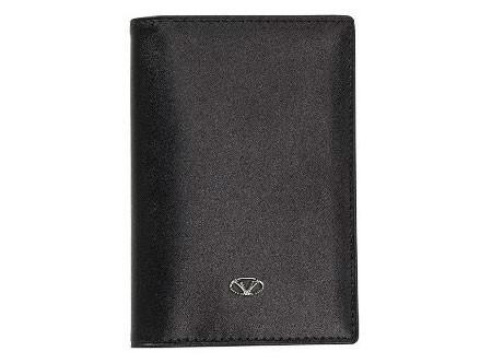 Черный футляр для кредитных карт Visconti
