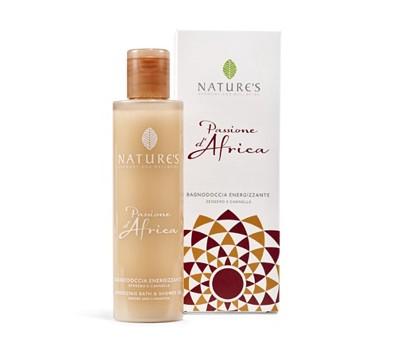 Nature's Гель для ванны и душа энергетический 200мл