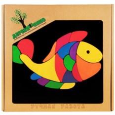 Головоломка на магнитной доске Рыбка