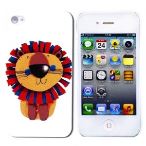 Чехол для iPhone 4/4S Little Lion