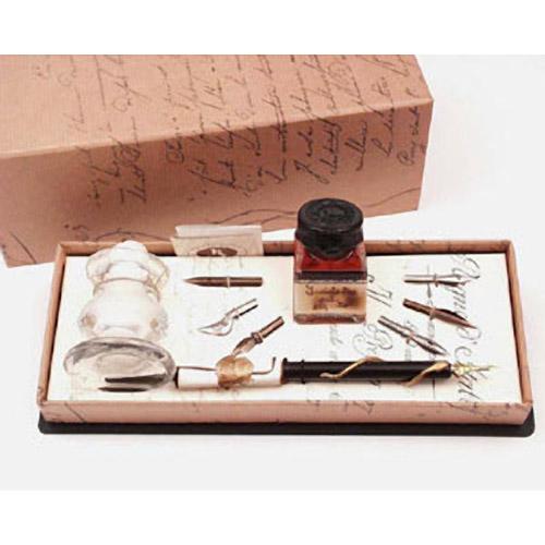 Письменный набор с симпатическими чернилами