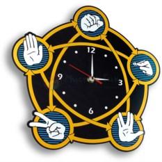Настенные часы Теория большого взрыва