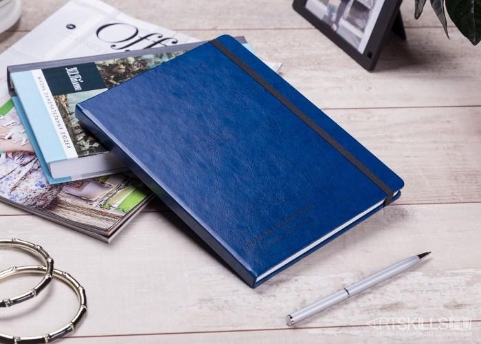 Синяя записная книжка Смелые мысли