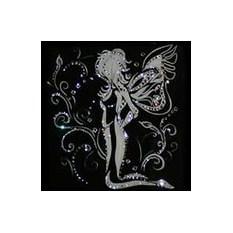 Картина с кристаллами Swarovski Ночной мотылек