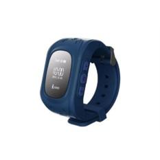Синие умные детские часы с GPS Smart Baby Watch Q50
