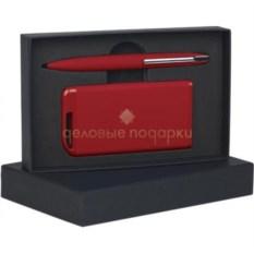 Красный набор ручка и зарядное устройство