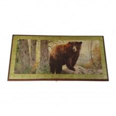 Настольные нарды «Бурый медведь»