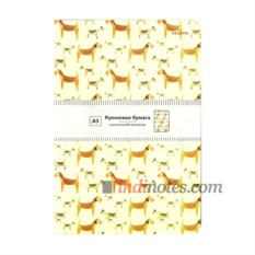 Скетчбук-тетрадь Falafel books Dogs А5