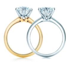 Помолвочное кольцо Тиффани Сеттинг Marietta (1 карат)
