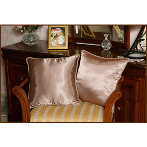 Шелковые подушки «Шоколадные»