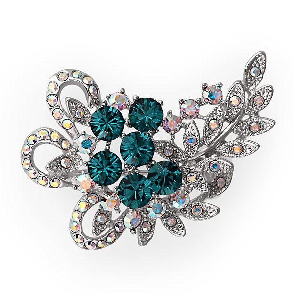 Брошь с кристаллами Swarovski Алиса