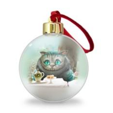 Ёлочный шар Чеширский кот 4