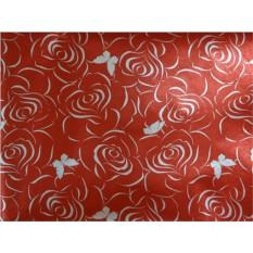 Красная упаковочная бумага