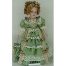 Коллекционная фарфоровая кукла Мадлен
