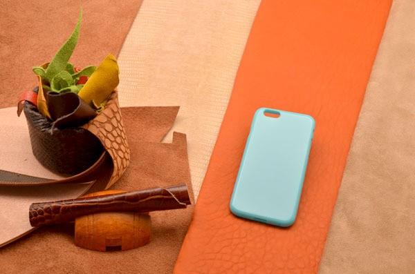 Чехол для iPhone 6 силиконовый TPU (Голубой, глянцевый)