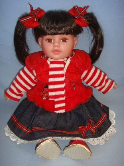 Озвученная кукла Женя