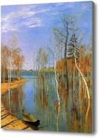 Репродукция картины Лодка на воде