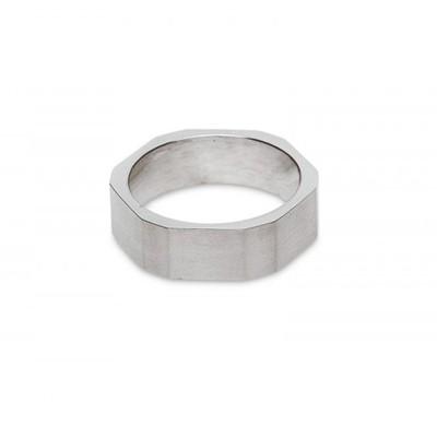 Кольцо титан «Гайка»
